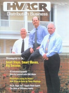 HVACR Distribution Business April 2004 Cover - Click image to view pdf