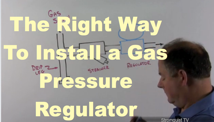 Gas Gauge Not Working >> How to install a Natural Gas Pressure Regulator ...