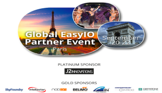 Global EasyIO Partner Event 2015 — Conference Highlights & Meeting Itinerary