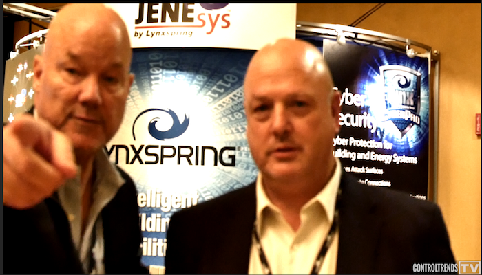 Ted Houck from Hepta Systems at Lynxspring Exchange
