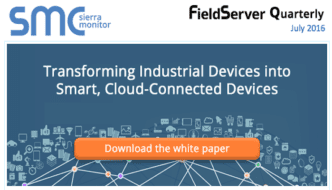 Sierra Monitor:  4 Steps to Transform Your Devices into Smart, Cloud-Connected Devices
