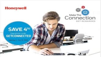 SAVE NOW: Honeywell's Make the Connection Fall Promotion