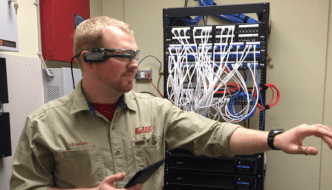 Tennessee's Lee Company Technicians use Smart Glasses to Receive Remote Support