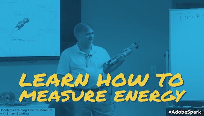 Live Rewind: How to Measure Energy in Smart Buildings