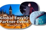 EasyIO World Conference, Manchester United, UK, May 21, 2017 — Early Bird Tickets for EasyIO Global Conference now available!
