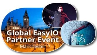 EasyIO World Conference, Manchester United, UK – 22 May 2017 — Early Bird Tickets for EasyIO Global Conference now available!