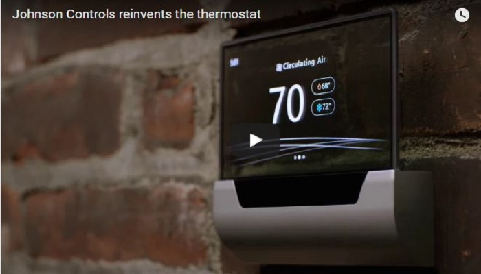 Johnson Controls Reinvents the Thermostat — Introducing GLAS, Utilizes Windows 10 IoT Core, Cortana Voice Services, and Azure Cloud