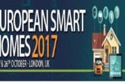 ACI's European Smart Homes 2017 will be taking place in London, UK, on 25th & 26th of October 2017