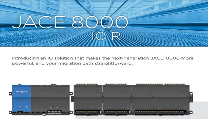 Tridium Announcement:  Introducing a Leap Forward for the JACE 8000