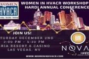 Women in HVACR @ HARDI Annual Conference 2017, Aria Hotel, Las Vegas, Dec 2, 2017