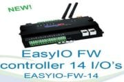 EasyIO's FW-14 — A New Breed of High Performance, Freely Programmable, Wireless Controllers