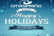 Happy Holidays and a Great New Year's Wish from Lynxspring