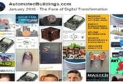 Ken Sinclair's Automated Buildings January, 2018 Theme: The Face of Digital Transformation 2018