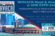 Women In HVACR Invites You to  WHVACR's Meet & Greet — Tues Night 6:30pm @ Margaritaville Restaurant on Chicago's Navy Pier!