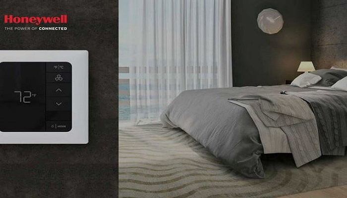 honeywell 39 s new e7 hotel smart thermostat controltrends. Black Bedroom Furniture Sets. Home Design Ideas