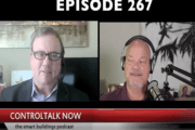 Episode 267: ControlTalk NOW — Smart Buildings Videocast and PodCast for Week Ending May 20, 2018