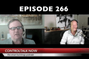 Episode 266: ControlTalk NOW — Smart Buildings Videocast and PodCast for Week Ending May 13, 2018