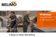 Belimo Webinar – 5 Steps to HVAC Retrofitting