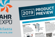 2019 AHR Expo Product Preview Released: AIR-CONDITIONING & REFRIGERATION EQUIPMENT, SYSTEMS, COMPONENTS & PRODUCTS