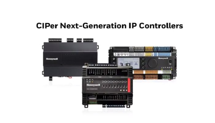 Honeywell's New CIPer Next-Generation IP Controller Line is a Game Changer in the Building Automation Industry