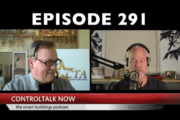 Episode 291: ControlTalk NOW — Smart Buildings Videocast and PodCast for Week Ending Nov 11, 2018