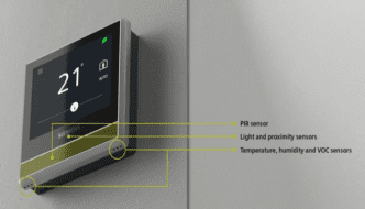Siemens RDS110 — Smartest Thermostat Yet — 6 Powerful and Accurate On-board Sensors