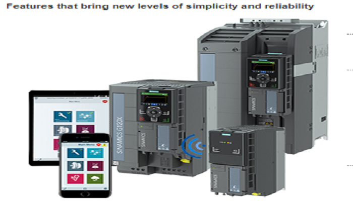 SIEMENS New SINAMICS G120X Drives: Less Complex – More Reliable, and