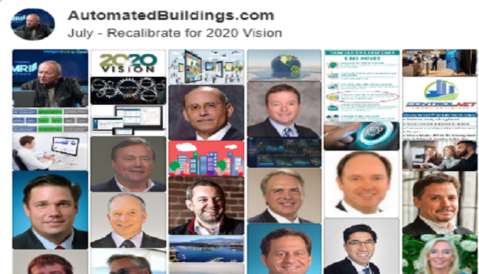 Ken Sinclair's Automated Buildings' July, 2019 Editorial Theme